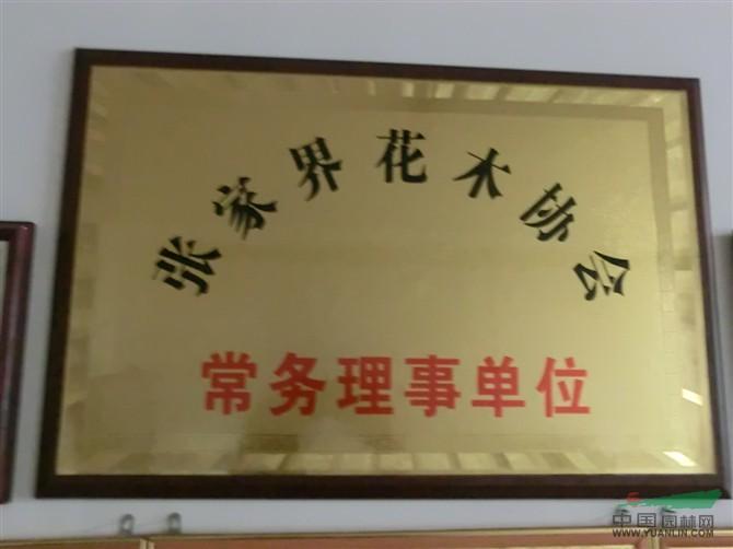 张家界花木协会常务理事会单位